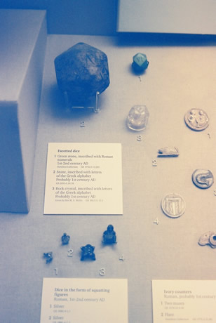 Polyhedron Dice, 1-2 A.D. - British Museum 2006 A.D